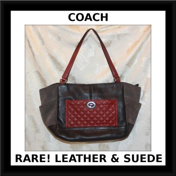4a2269e10f0b Coach Bags | Rare Salef24693park Colorblock Purse | Poshmark